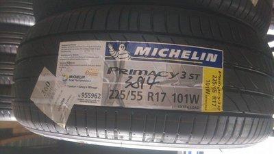 【台中歐美】米其林輪胎特價中 PRIMACY 3 ST 245/50R18、255/45R18、245/45R19