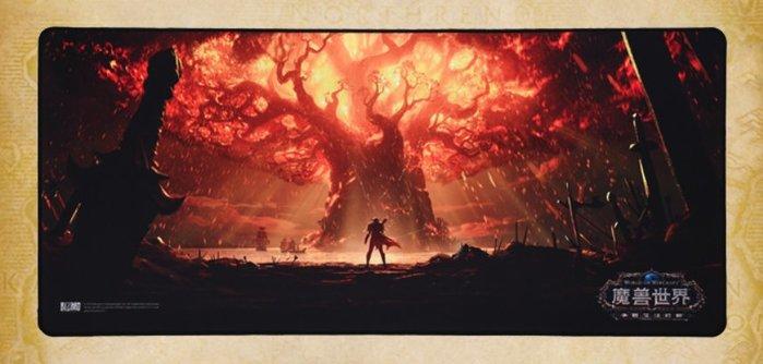 【丹】TB_World of Warcraft 魔獸世界 火燒樹 老兵 希瓦納斯 薩魯法爾 滑鼠墊 單一價