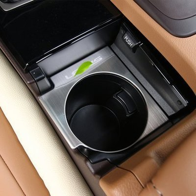 有車以後汽配 LEXUS 淩誌 ES200 ES250 ES300h 水杯槽保護亮片 ES內裝改裝配件