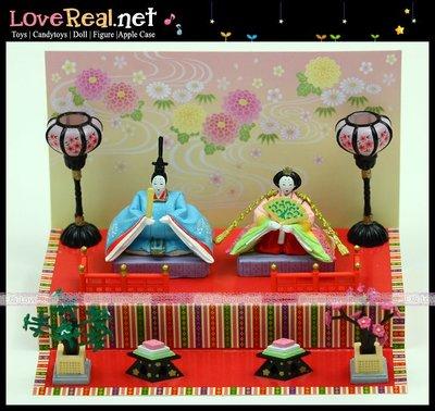 日本進口正版停產re-ment迷你擺設 原版 3月女兒節人偶娃娃場景