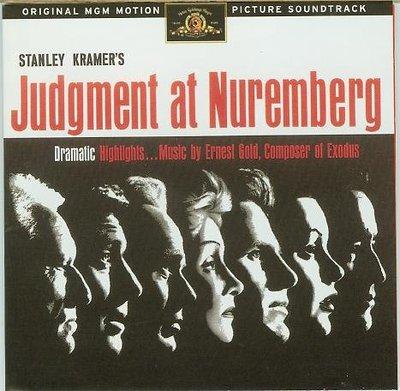 """[原聲帶] """"紐倫堡大審(Judgment at Nuremberg)""""- Ernest Gold(03),美版"""