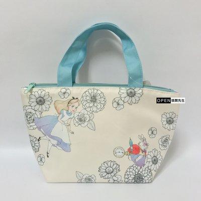 【張開先生】日本帶回 Disney Store 愛麗絲 Alice 保溫保冷袋 便當袋【現貨】