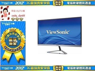 【35年連鎖老店】優派ViewSonic VX2476-SMHD 24型AH-IPS時尚液晶螢幕有發票/3年保固