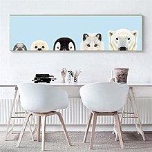 ins現代簡約北歐萌貓床頭裝飾畫畫芯客廳餐廳掛畫