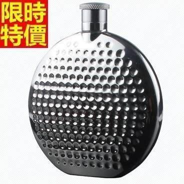 隨身酒壺 圓形金屬-俄羅司風情不銹鋼戶外4盎司隨身酒瓶66k46[獨家進口][米蘭精品]
