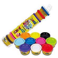 兒童無毒黏土-好玩小麥黏土10色歡樂組-FOOD超人