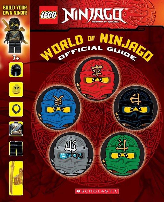 *小貝比的家*NINJAGO WORLD OF NINJAGO OFFICIAL GUIDE/精裝/3~6歲