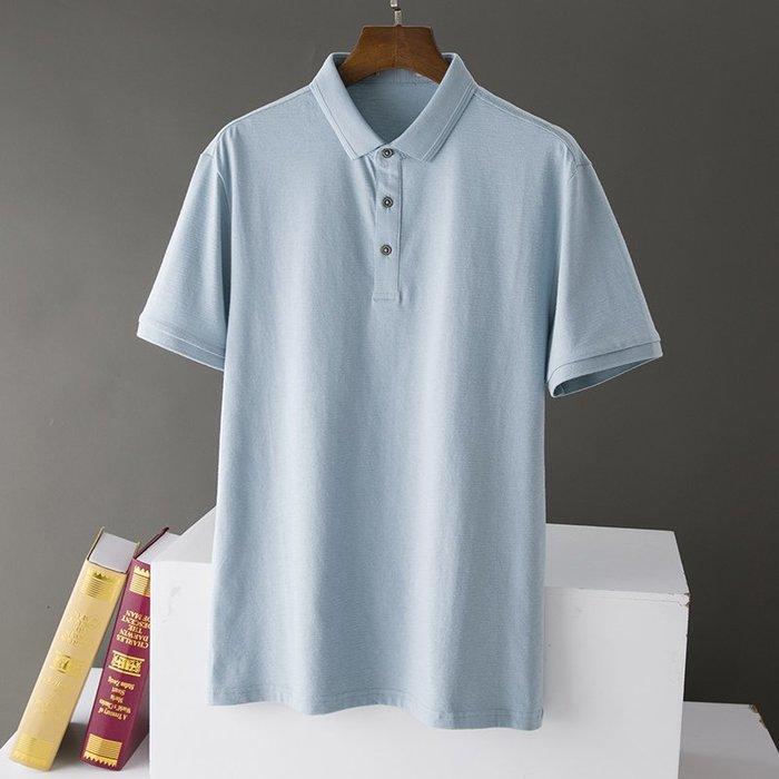 [C.M.平價精品館]新品特價165~190潔淨舒適清爽水藍色短袖POLO衫