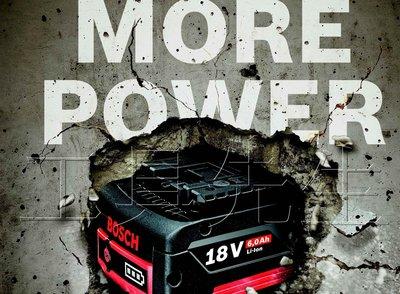含稅價/18V/6.0Ah【工具先生】BOSCH 18V 滑軌式 系列 鋰電池 充電電池*單賣鋰電池*