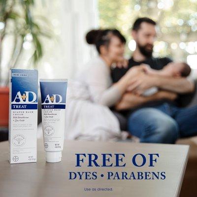A+D Diaper Rash Cream 美國原廠藍色修護 嬰幼兒 尿布霜 添加蘆薈滋潤*2,2021年空運到台