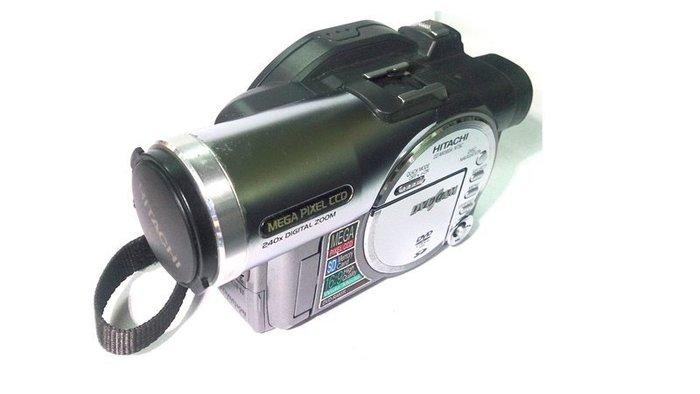 ☆手機寶藏點☆ 日立 HITACHI DZ-MV580A DVD 攝影機 LCD不良其他功能正常 咖84