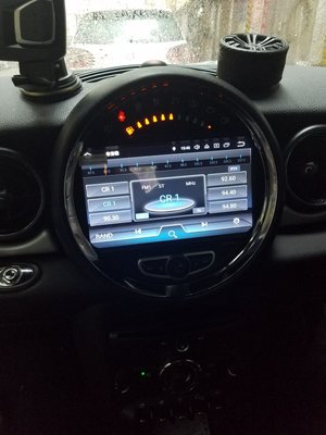 """YOKOTRON"" Android car player for Mini Cooper 2011-2013"