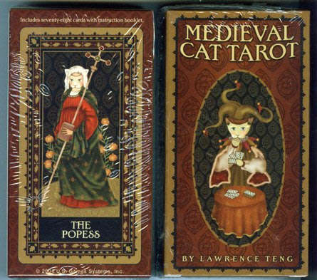 【牌的世界】中古世紀貴族貓塔羅牌 Medieval Cat Tarot (78張)