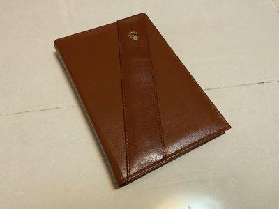 Happy Day - 原裝勞力士18238真皮記事本 Notepad