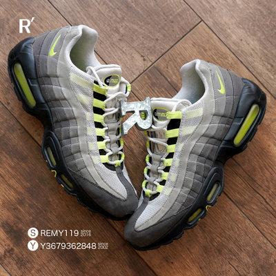 R代購 Nike Air Max 95 OG Neon 灰黃 CT1689-001 男女