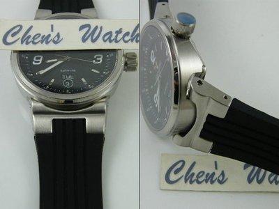 【錶帶家】Oris 豪利時 威廉斯 Williams TT2 代用凸款膠帶另有 TT1 替代F1胎紋頂級矽膠錶帶