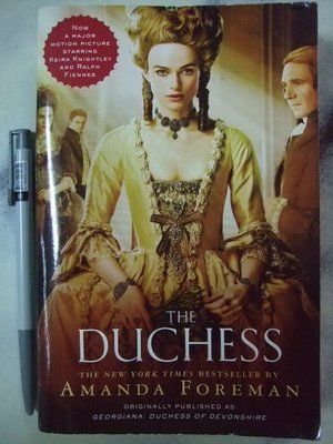 A1-3☆2008年『The Duchess』Amanda Foreman著《Random House》