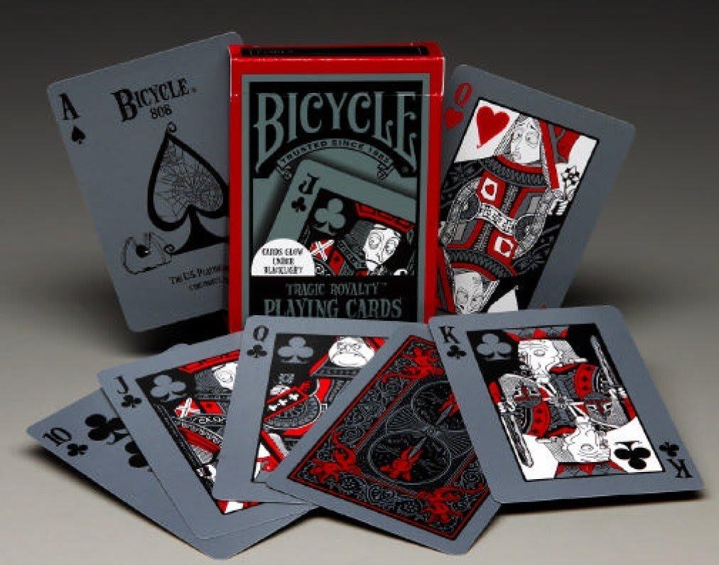 BICYCLE 808 TRAGIC ROYALTY悲慘皇室 悲情皇室 收藏牌