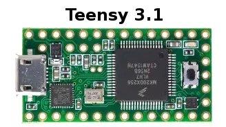 Teensy 3.1 W177.0427