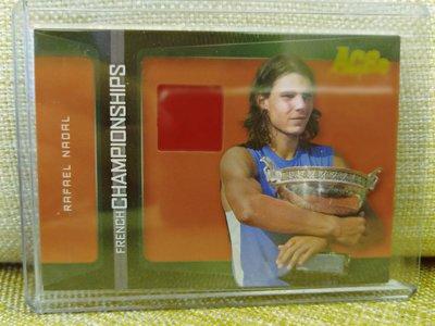 (記得小舖)Rafael Nadal 2007 法國公開賽 冠軍球衣卡 台灣現貨 非常稀少值得收藏