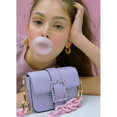 【艾利洋行】( High Cheeks ) Lady embellished Belt Bag 牛皮腰包/側背包