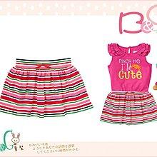 【B& G童裝】正品美國進口Crazy8 Stripe Knit Skirt 紅色條紋薄短裙2,3yrs