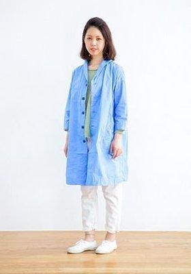現貨 日本質感品牌  omnigod 定番款 水手 薄棉 風衣 日本製
