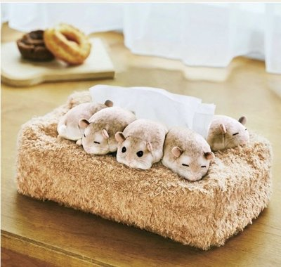 ::BonChu:: 日本限定 倉鼠抽取式衛生紙套 日本購回 助六的日常 倉鼠 日本雜貨