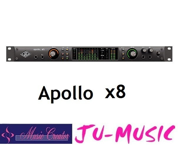 造韻樂器音響- JU-MUSIC - Universal Audio Apollo x8 Thunderbolt