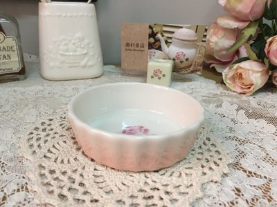 Many 玫瑰 甜點塔 派盤S 耐熱陶噐 日本製 現貨