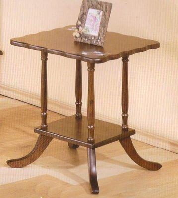 實木方形茶几桌子 小方桌 小茶几 沙發邊桌  盆栽桌