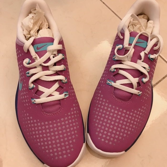 全新紫色Nike Golf 高爾夫 球軟釘鞋