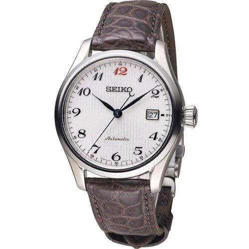 SEIKO 精工 PRESAGE 6R15領航者機械腕錶 6R15~03N0P 白 SPB