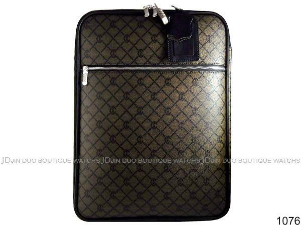 金鐸精品~1076 CHARRIOL 夏利豪 PVC防水帆布LOGO字紋 登機箱 行李箱 近全新