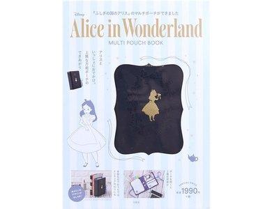愛麗絲夢遊仙境 Disney Alice in Wonderland MULTI POUCH BOOK 訂