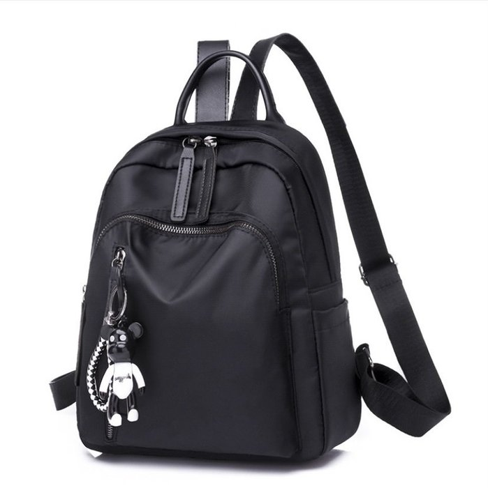 背包 雙肩包 單肩包 手提包 側背包 包包大容量新款女包 手提包 時尚高密度尼龍 防潑水單肩旅行包女士手提背包