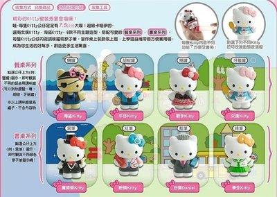 Hello Kitty角色扮演公仔(7-11、康是美)