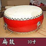 【樂器王 u75】中國鼓系列 ~【10寸扁鼓 附棒 背帶:1680元/個】  腰鼓 扁鼓 堂鼓 戰鼓 太鼓  鳳陽花鼓