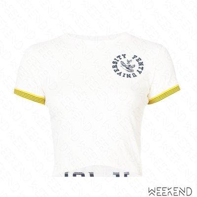 【WEEKEND】 FENTY X PUMA Rihanna Vintage 短袖 T恤 上衣 白色 18春夏新款