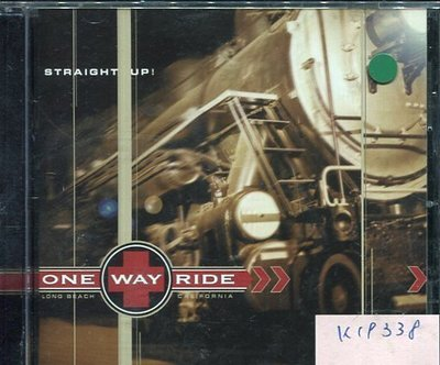 *真音樂* ONE WAY RIDE / STRAIGHT UP 二手 K19338