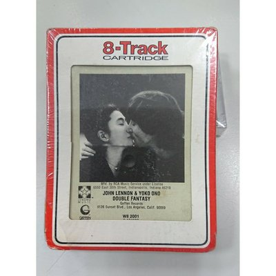 全新古早匣式卡帶JOHN LENNON 約翰藍儂DOUBLE FANTASY STRIPPED DOWN雙重幻想曲