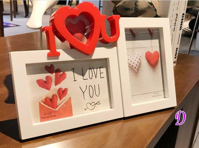 LOVE情侶相框系列 2-3框 * 婚禮小物 韓風相框 收禮桌 佈置 情人節 結婚紀念 照片 相本 抽獎 婚紗相框