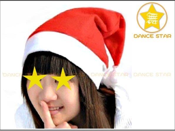舞星【萬聖派對Cosplay平安夜聖誕節】M610#-無紡布-紅色聖誕帽-成人/兒童-成人頭圍56cm-兒童頭圍50cm