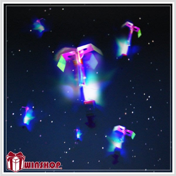 【贈品禮品】B1661 LED彈射高空發光竹蜻蜓/夜市熱賣LED高空竹蜻蜓/LED發光飛碟/彈力飛箭