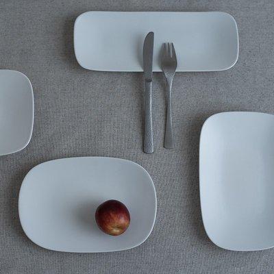慕洛斯家居~日本進口yumiko iihoshi rectangle系列陶瓷餐盤禪意簡約長方盤
