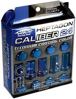 【翔浜車業】日本純㊣KYO-EI CALIBER 24 鍛造強化輪圈防盜螺帽組(M12xP1.25)