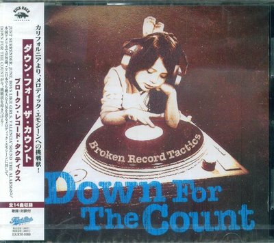 K - Down For The Count Broken Record Tactics - 日版 - NEW