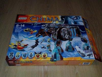 [二手]Lego 70145 Maula's Ice Mammoth Stomper CHIMA