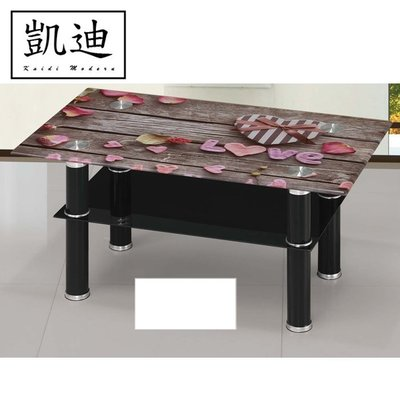 【凱迪家具】F6-037-3 心之花大茶几/可刷卡/大雙北市區滿五千元免運費