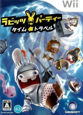 【二手遊戲】WII 雷射超人瘋狂兔子 時光旅行 RAVING RABBIDS TRAVEL IN TIME 日文版 台中